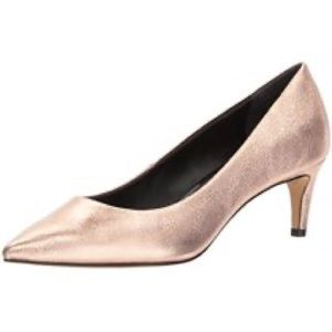 Dolce Vita Rose Gold Leather Pump